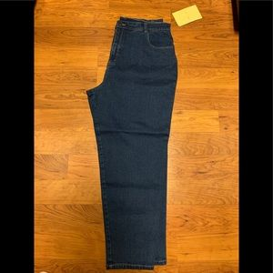 Denim & Co. Reg 5-Pocket Straight Leg Jeans 22W